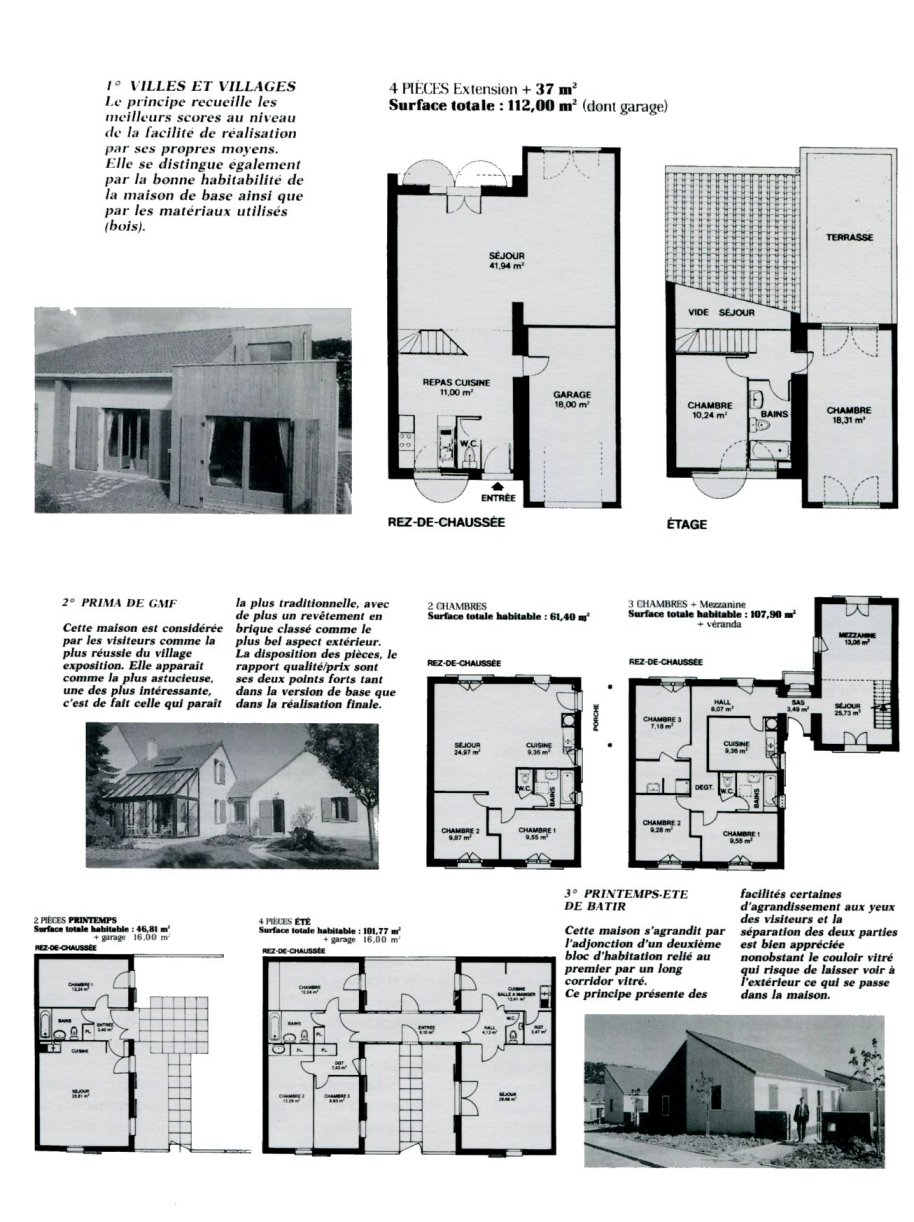 Trendy plans de la maison harunoya komp evol with les for Programme plan maison